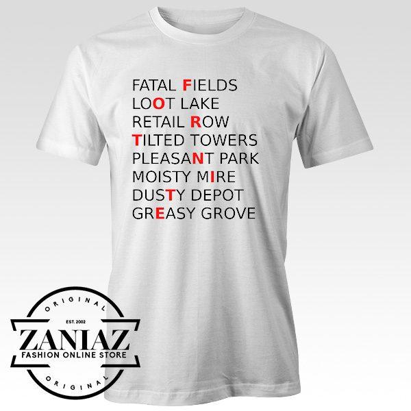 Buy Custom Quote Fortnite Game Tshirt