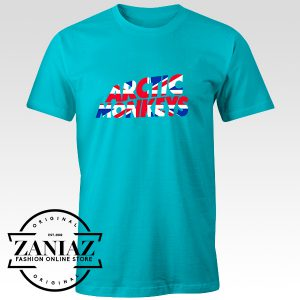 Buy Custom Tshirt Arctic Monkeys UK Flag