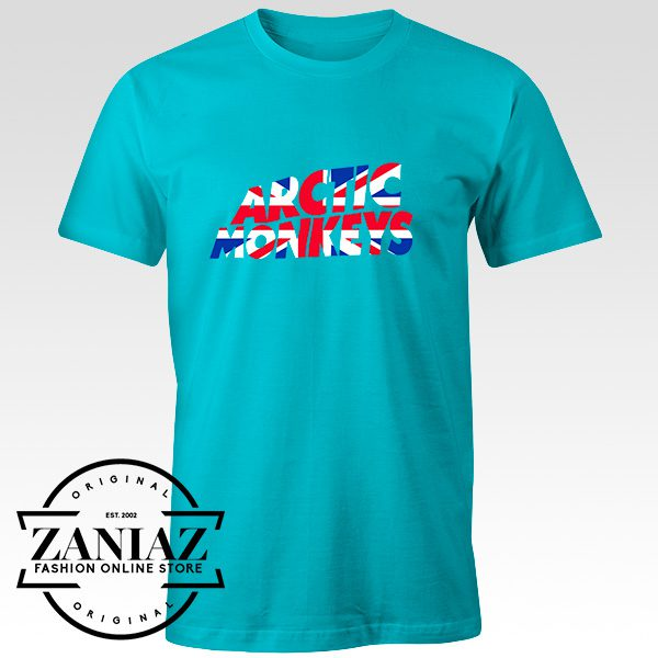 Buy Custom Tshirt Arctic Monkeys UK Flag