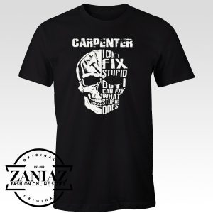 Buy Custom Tshirt Carpenter Skull