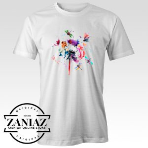 Buy Dragonfly Abstract Shirt For Man And Woman