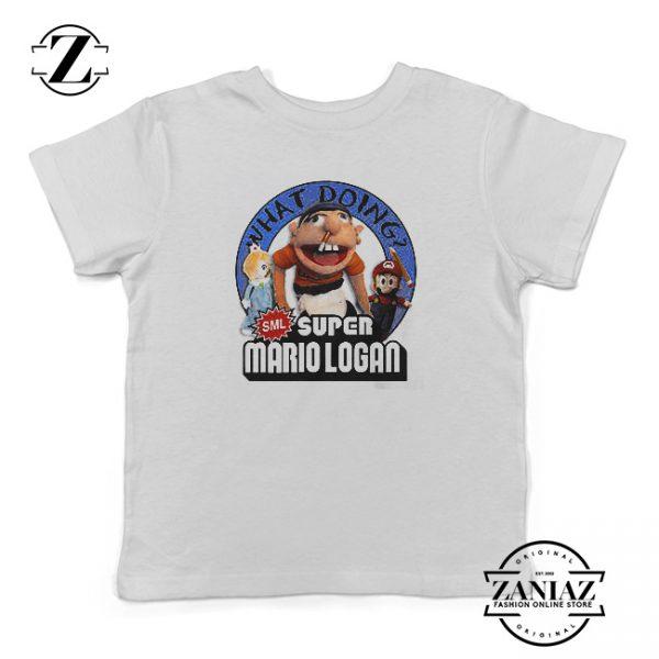 Buy Jeffy Super Mario Logan T-Shirt Kids
