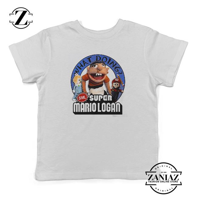 fb258f9c7271 Buy Jeffy Super Mario Logan T-Shirt Kids - FASHION GRAPHIC ONLINE STORE