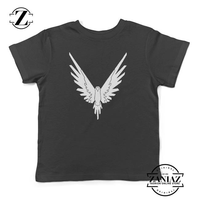 Kids Custom Maverick Bird T-Shirts Boys Girls Teenager Tee Shirt Children Youth Graphics Tees