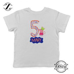 Buy Peppa Pig Birthday Shirt Kids