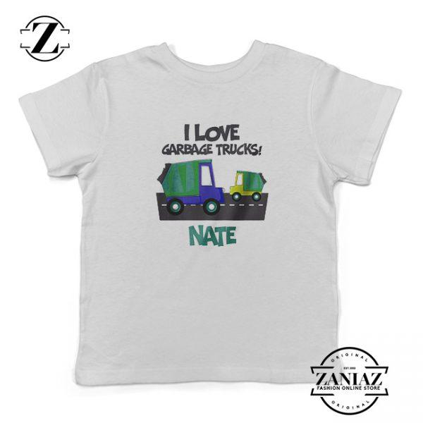 Buy Personalized I Love Garbage Trucks Tee Shirt