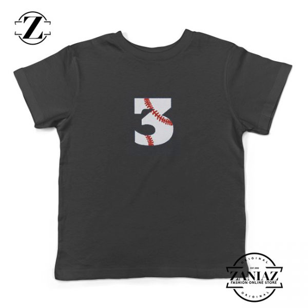 Buy Toddler 3rd Birthday Shirt Baseball