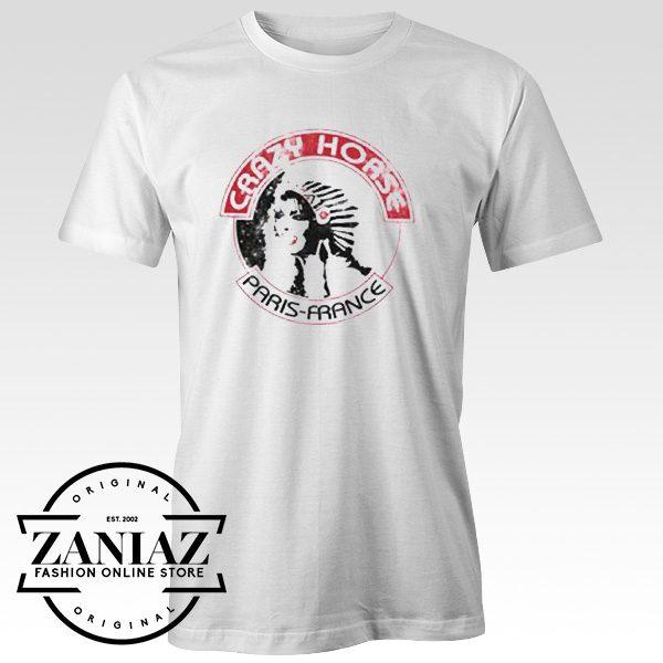 Buy Tshirt Crazy Horse Paris France