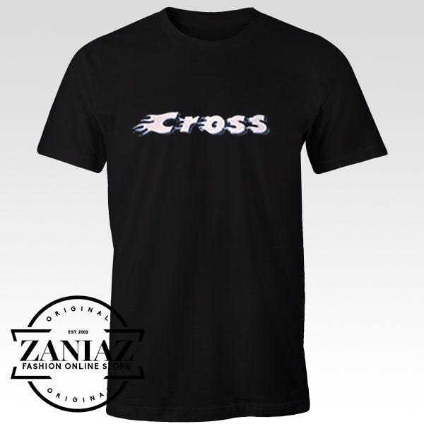 Buy Tshirt Cute Cross Crop Top