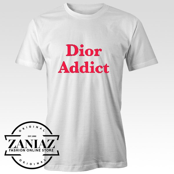Buy Tshirt DIOR ADDICT as Worn by Kendall Jenner