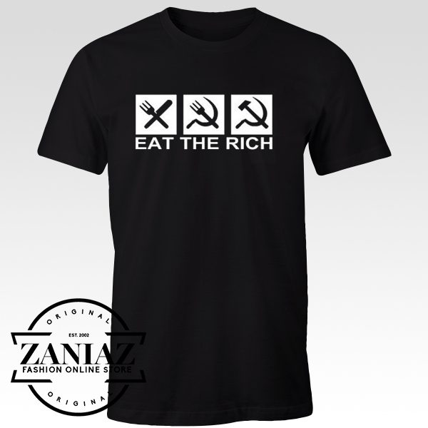 Buy Tshirt Eat The Rich for Adult Unisex