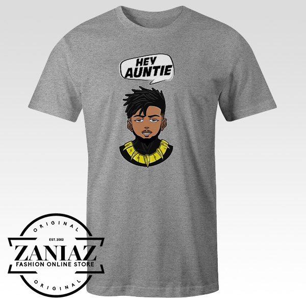 Buy Tshirt Erik Killmonger Hey Auntie