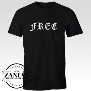Buy Tshirt Free Font Men and Women