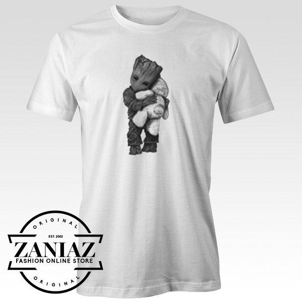 Buy Tshirt Guardians Galaxy Groot Hug Teddy Bear