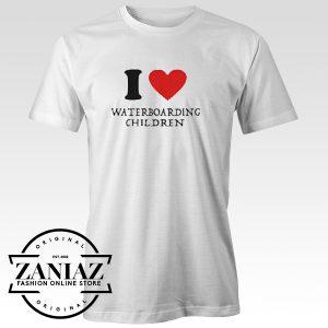 Buy Tshirt I Love Waterboarding Children