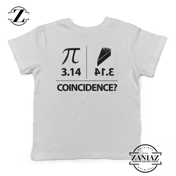Buy Tshirt Kids Pie Coincidence - 3.14 Backwards