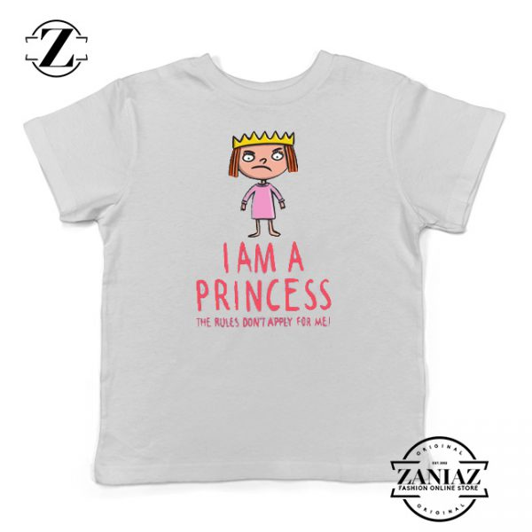 Buy Tshirt Kids The Rules Don't Apply For a Princess