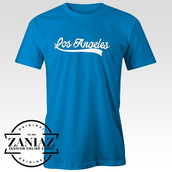 Buy Tshirt Los Angeles Blue for Men and Women
