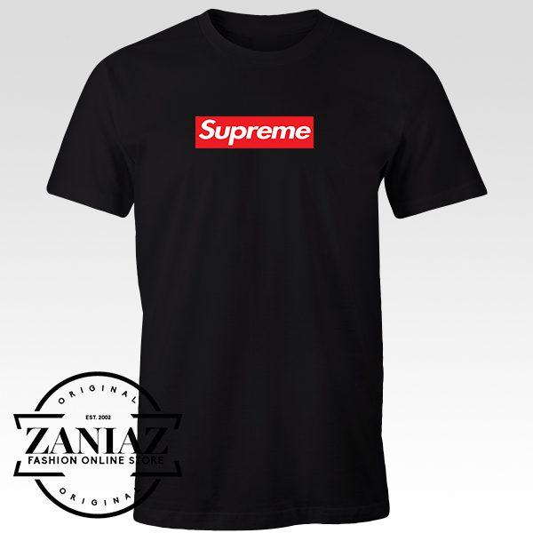 Buy Tshirt Supreme Logo Women and Men
