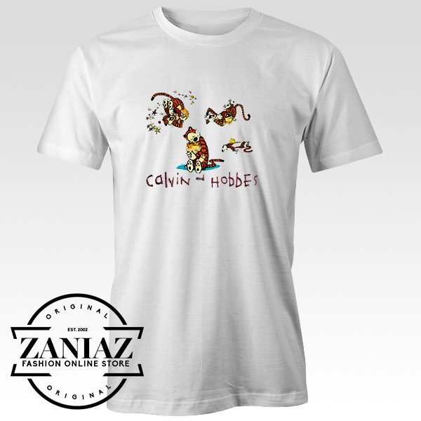Buy calvin and hobbes collage T-Shirt