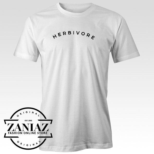 Cheap Graphic Tee Shirts HERBIVORE Tshirt Top