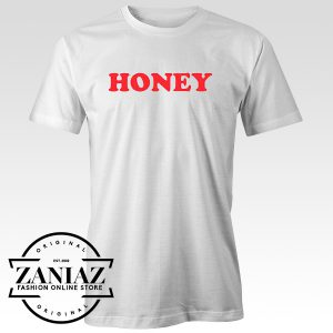 Cheap Tee Shirt Honey Tshirt White for Women