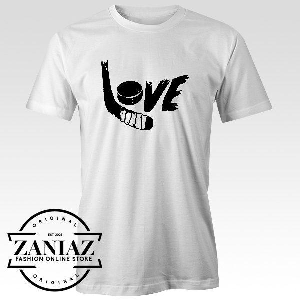 Cheap Tees Graphic Design Love Hockey Shirts Fashion Graphic