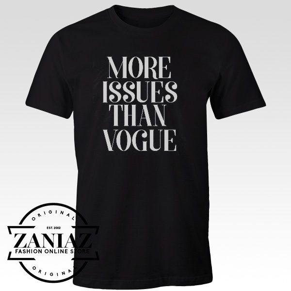 Cheap Tshirts More Issues Than Vogue Slogan Tees