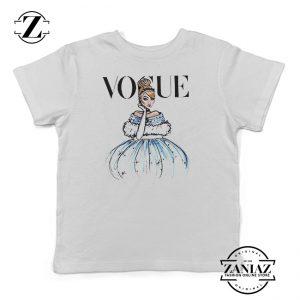 Cinderella Vogue Birthday T Shirt Kids