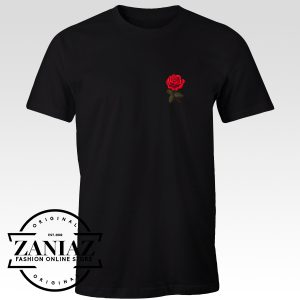 Cool Red Rose T-Shirt Men and Women