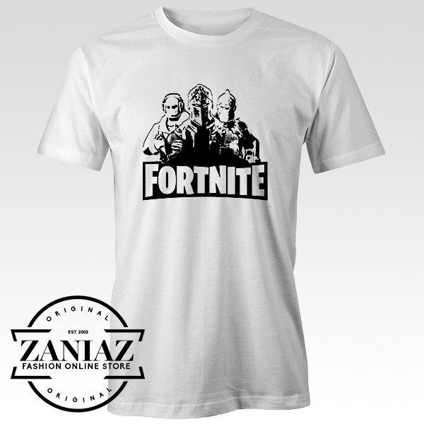 Custom Fortnite Logo T Shirt Unisex Adult
