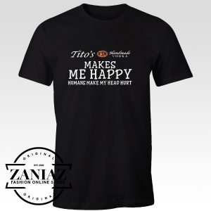 Custom Makes Me Happy Human Make My Heart Hurt Tshirt