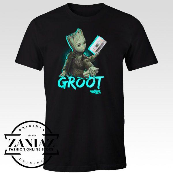 Custom Tshirt Groot Mix tape