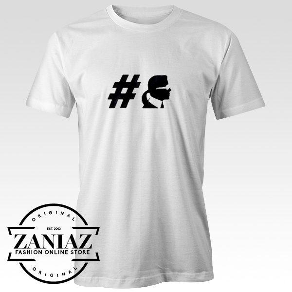 Custom Tshirt Karl Lagerfeld Hashtag