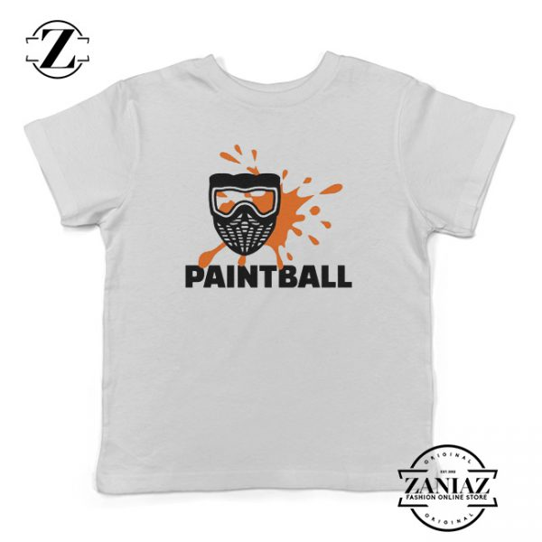 Custom Tshirt Kids Paintball Game