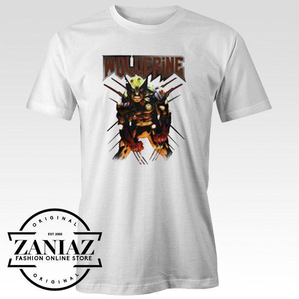 Custom Tshirt Wolverine Attack