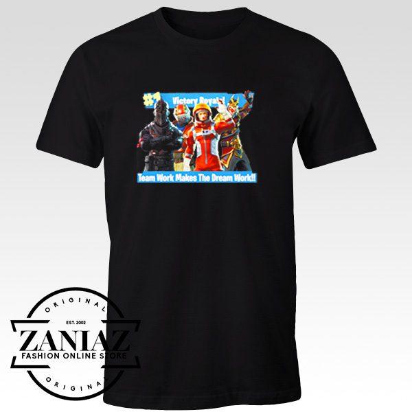 Custom Victory Royale Fortnite Game Tshirt