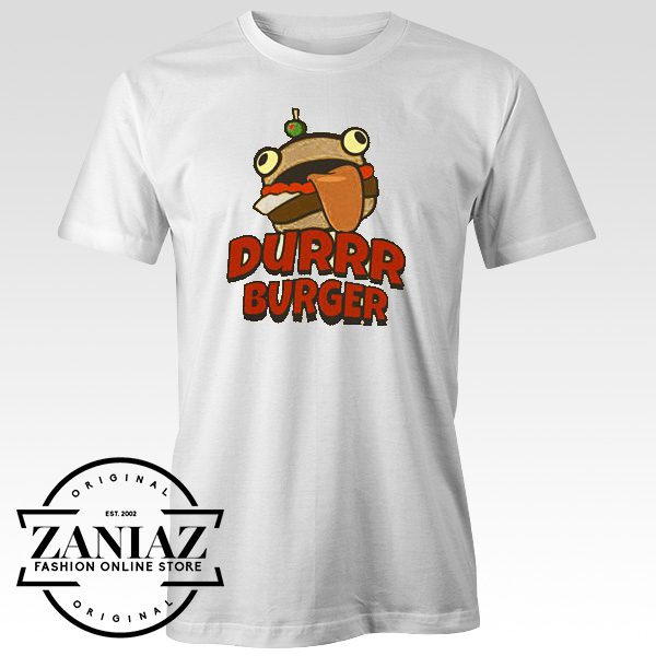 Durrr Burger Fortnite Game tshirt
