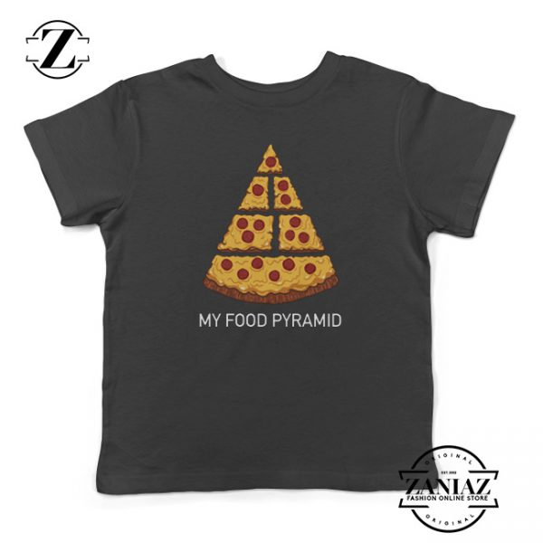 Food Funny Pizza Shirts for Kids