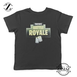 Fortnite Battle Royal Logo Kids T Shirt