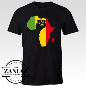 T-shirt African Black Power