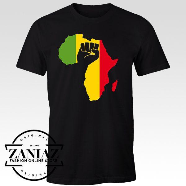 2d2fbe34c Custom T-shirt African Black Power