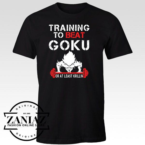 Tee Shirt Training To Beat Goku DragonBall