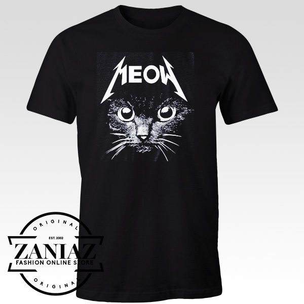 Buy Meow Face Tee Shirts Cheap t shirts for men