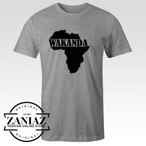 Buy Tshirt Black Panther Wakanda Marvel Tee Shirt
