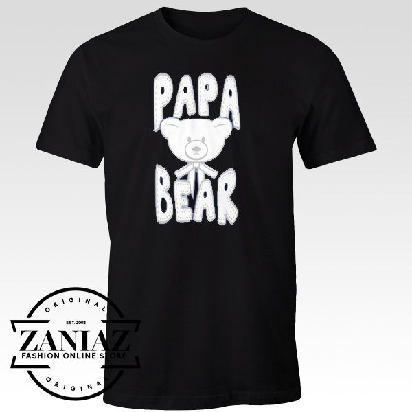 Cheap Graphic Papa Bear Shirt Best Dad Shirts
