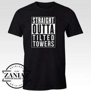Cheap T-Shirt Fortnite Straight Outta Tilted Towers