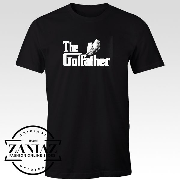 Funny Tee Shirt The Golfather Cheap Dad T-shirt