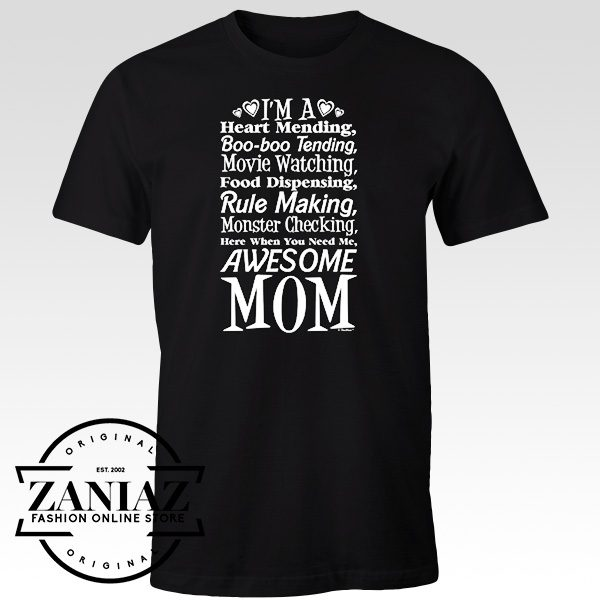 Graphic T Shirt I'm an Awesome Mom Gift Tee Shirt
