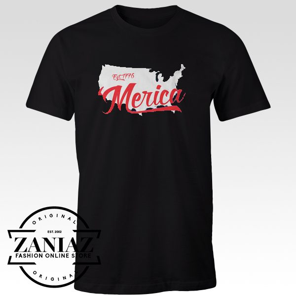 Merica Est.1776 Patriotic Independence Day Shirt
